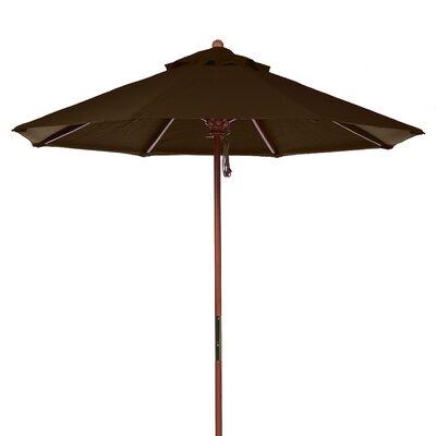 7.5 Market Umbrella Fabric: Brown