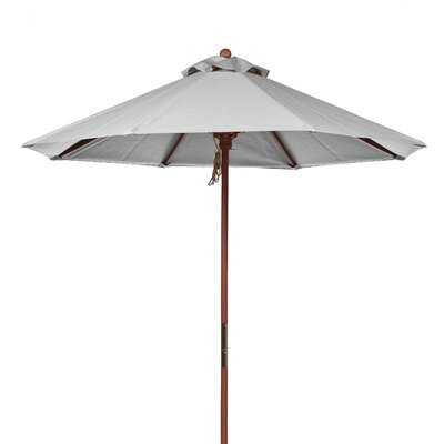 9 Market Umbrella Fabric: Cadet Gray