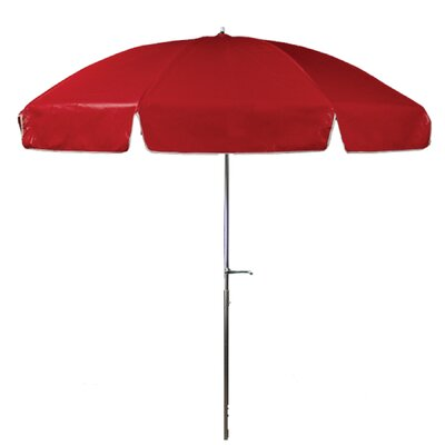 7.5 Drape Umbrella Fabric: Red