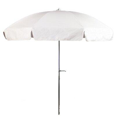 7.5 Drape Umbrella Fabric: White