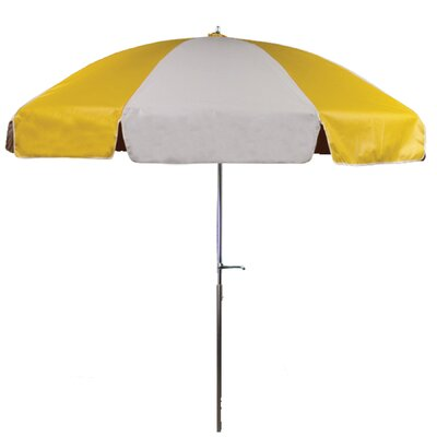 7.5 Drape Umbrella Fabric: Yellow and White
