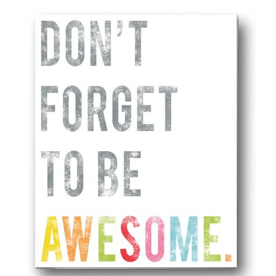 Be Awesome Poster FWMAWEXXX1824