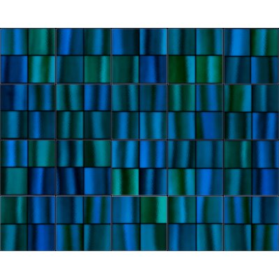 6 x 6 Mosaic Tile in Blue