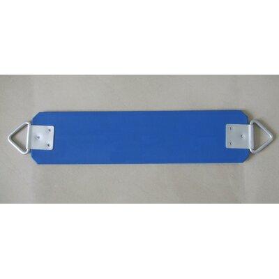 Rubber Belt Swing Seat Color: Blue APS-BeltSeat-B