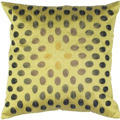 Decorative Throw Pillow Color: Green / Black