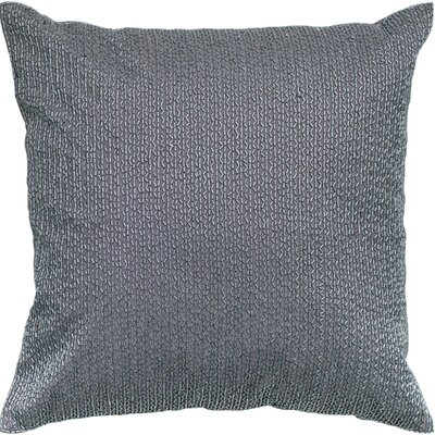 Rizzy Sequin Embroidered Pillow - Color: Silver