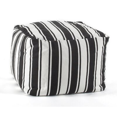 Pouf Ottoman Color: Black