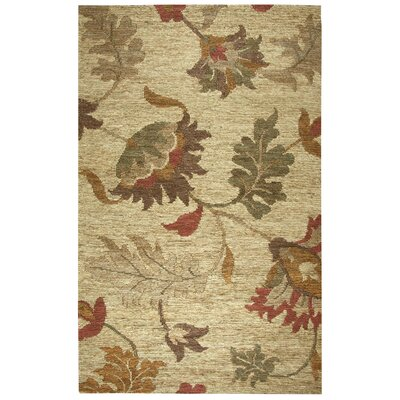 Whittier Hand-Woven Natural Area Rug Size: 3 x 5