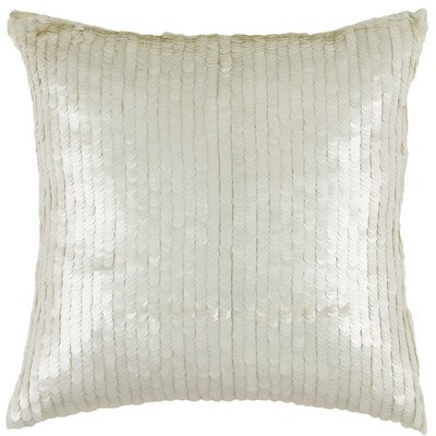 Jenna Embroidered Cotton Throw Pillow