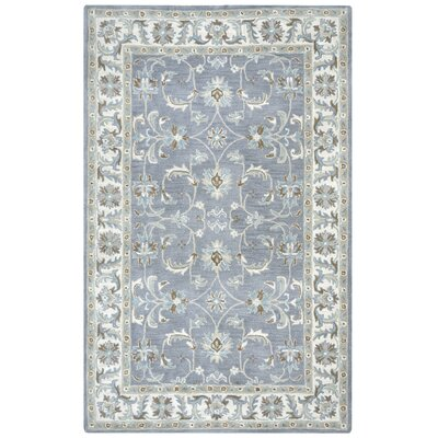 Gillison Hand-Tufted Blue Area Rug Rug Size: Rectangle 5 x 8