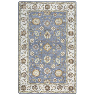 Gillison Hand-Tufted Gray Area Rug Rug Size: Rectangle 5 x 8