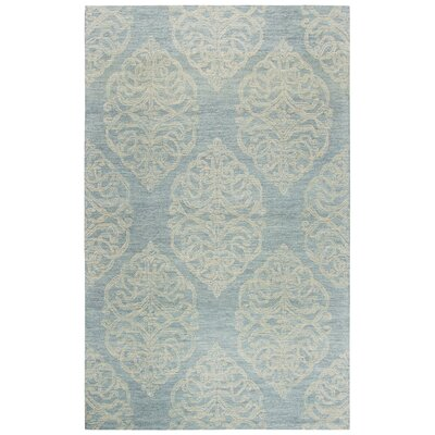 Nordmeyer Hand-Tufted Light Blue Area Rug Rug Size: Rectangle 5 x 8