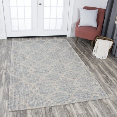 Sorensen Hand-Tufted Rectangle Wool Natural Area Rug Rug Size: Rectangle 10 x 13