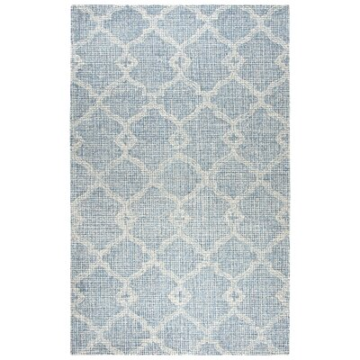 Sorensen Hand-Tufted Gray Area Rug Rug Size: Rectangle 5 x 8