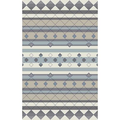 Bolding Hand-Tufted Gray Area Rug Rug Size: Runner 26 x 8