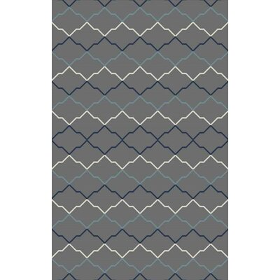 Bolding Hand-Tufted Gray Area Rug Rug Size: Rectangle 8 x 10