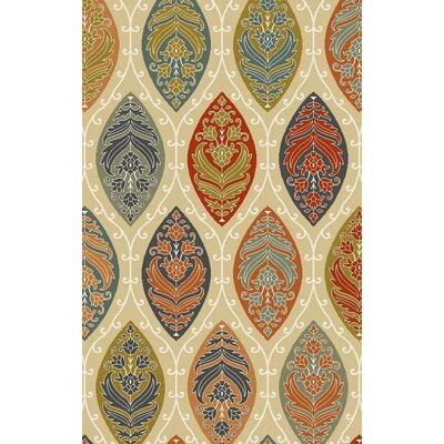 Bolding Hand-Tufted Tan Area Rug Rug Size: Rectangle 9' x 12'