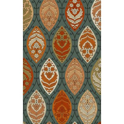 Bolding Hand-Tufted Gray Area Rug Rug Size: Rectangle 5' x 8'