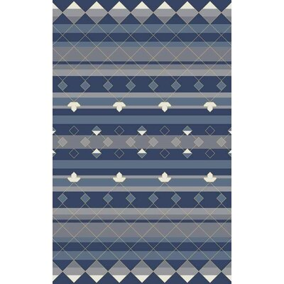 Bolding Hand-Tufted Blue Area Rug Rug Size: Rectangle 8 x 10