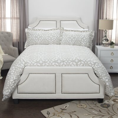 Happy Together Cotton 3 Piece Bedding Set Size: Queen