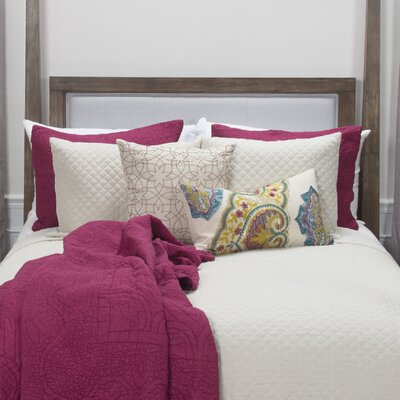Clearfield Natural Quilt Size: Queen, Color: Natural