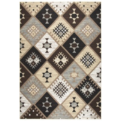 Burnwood Gold/Black/Gray Area Rug Rug Size: 8 x 10