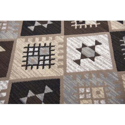 Burnwood Gold/Black/Gray Area Rug Rug Size: Rectangle 8 x 10