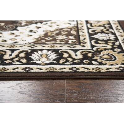 Burtt Brown Area Rug Rug Size: Rectangle 8 x 10