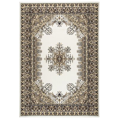 Burrell Ivory Area Rug Rug Size: 8 x 10