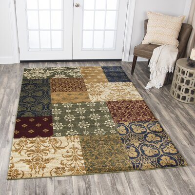 Phillip Gold Area Rug Rug Size: Rectangle 52 x 73