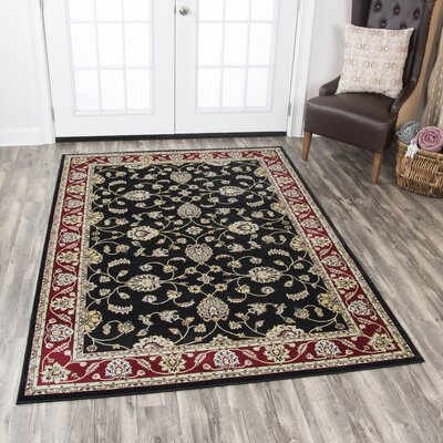Adkisson Red Area Rug Rug Size: 23 x 77