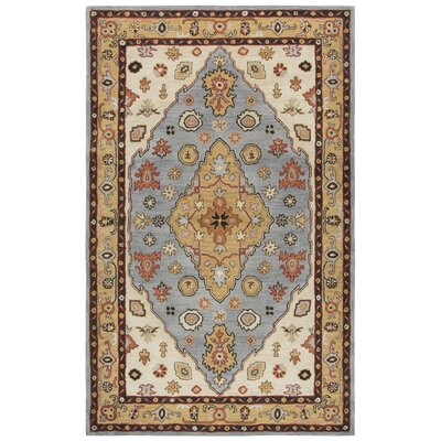 Altoga Hand-Tufted Beige Area Rug Rug Size: Rectangle 5 x 8