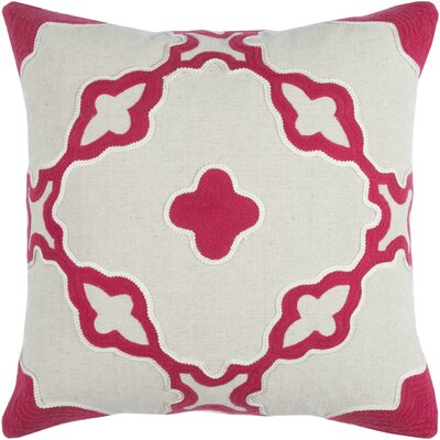 Briarcliffe Decorative 100% Cotton Throw Pillow Color: Pink