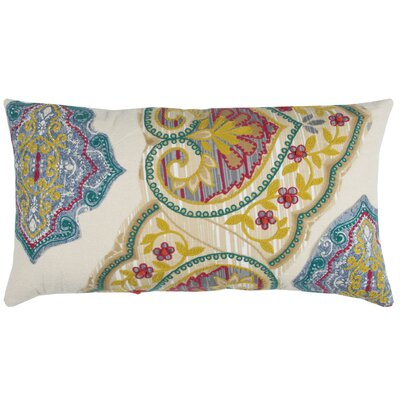 Bridesdale Decorative 100% Cotton Lumbar Pillow