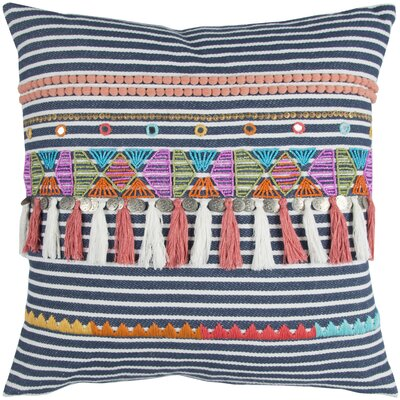 Braelyn Decorative 100% Cotton Throw Pillow