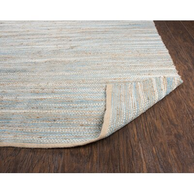 Carillon Hand Woven Aqua Area Rug Rug Size: Rectangle 7 x 10
