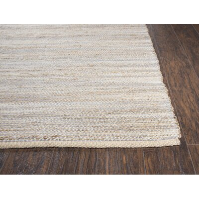 Carillon Hand Woven Gray Area Rug Rug Size: Rectangle 5 x 7
