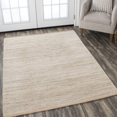 Carillon Hand Woven Ivory Area Rug Rug Size: 7 x 10