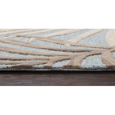 Providence Hand-Tufted Wool Seafoam Area Rug Rug Size: Rectangle 8 x 10