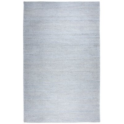 Guilford Hand-Woven Wool Gray Area Rug Rug Size: Rectangle 5 x 8