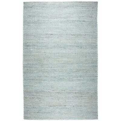 Killington Hand-Woven Wool Blue Area Rug Rug Size: Rectangle 3 x 5