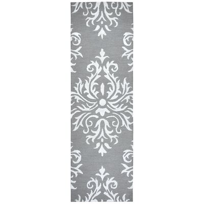 Pepper Hand Tufted Wool Heather Gray Area Rug Rug Size: Runner 26 x 8