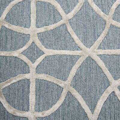 Beryl Hand Tufted Wool Ivory Area Rug Rug Size: Rectangle 5 x 8