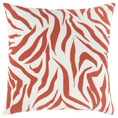 Mcgrady 100% Cotton Throw Pillow Color: Orange