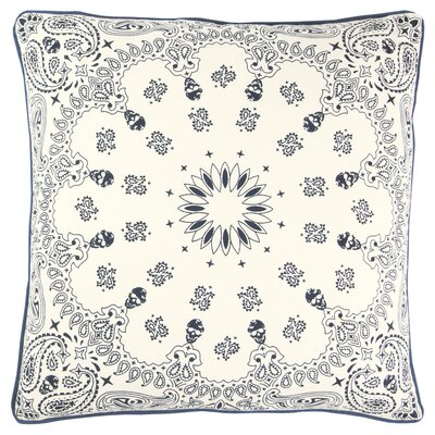 Raj 100% Cotton Throw Pillow