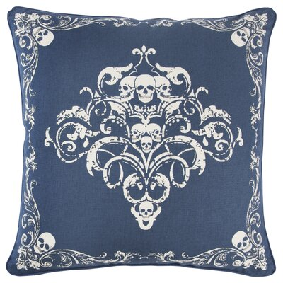 Chafin Modern 100% Cotton Throw Pillow Color: Blue