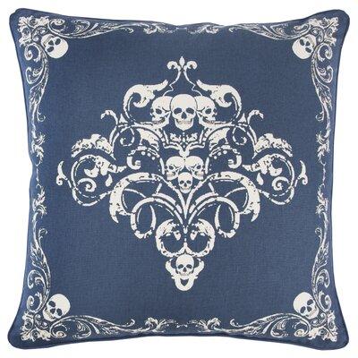 Chafin Modern 100% Cotton Throw Pillow Color: Blue