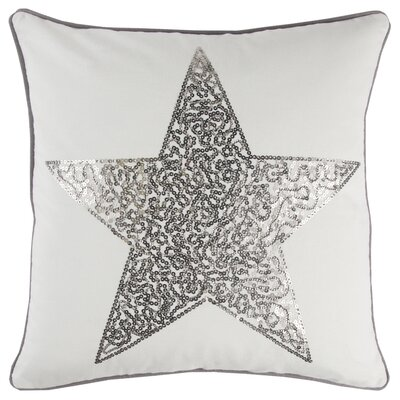 Juno Modern 100% Cotton Square Throw Pillow