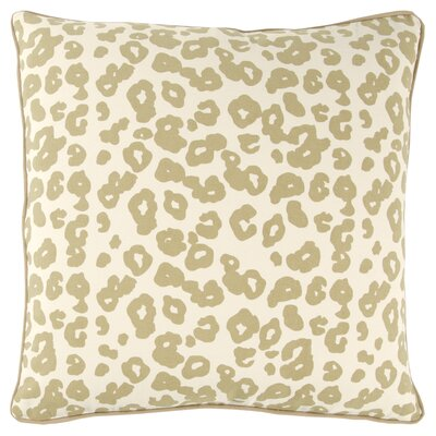 Honoria 100% Cotton Square Throw Pillow Color: Gray