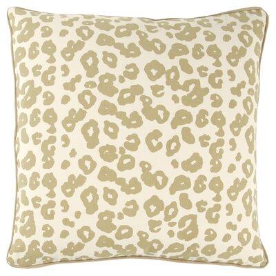 Honoria 100% Cotton Square Throw Pillow Color: Gray